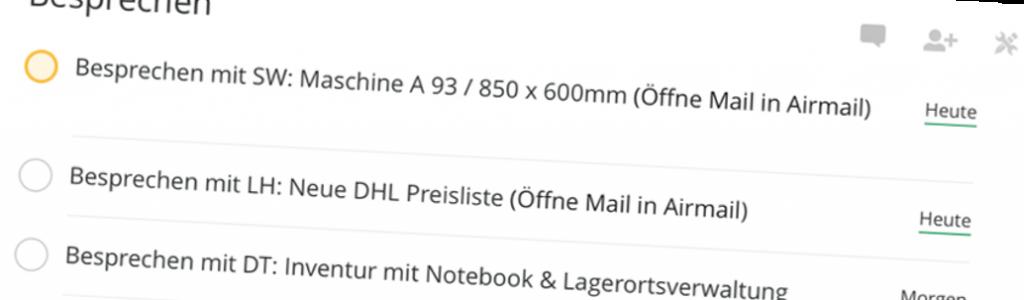Todoist und Inbox Zero